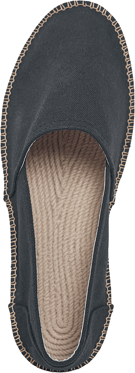 Image of Urban Classics Canvas Slipper Espandrillo schwarz