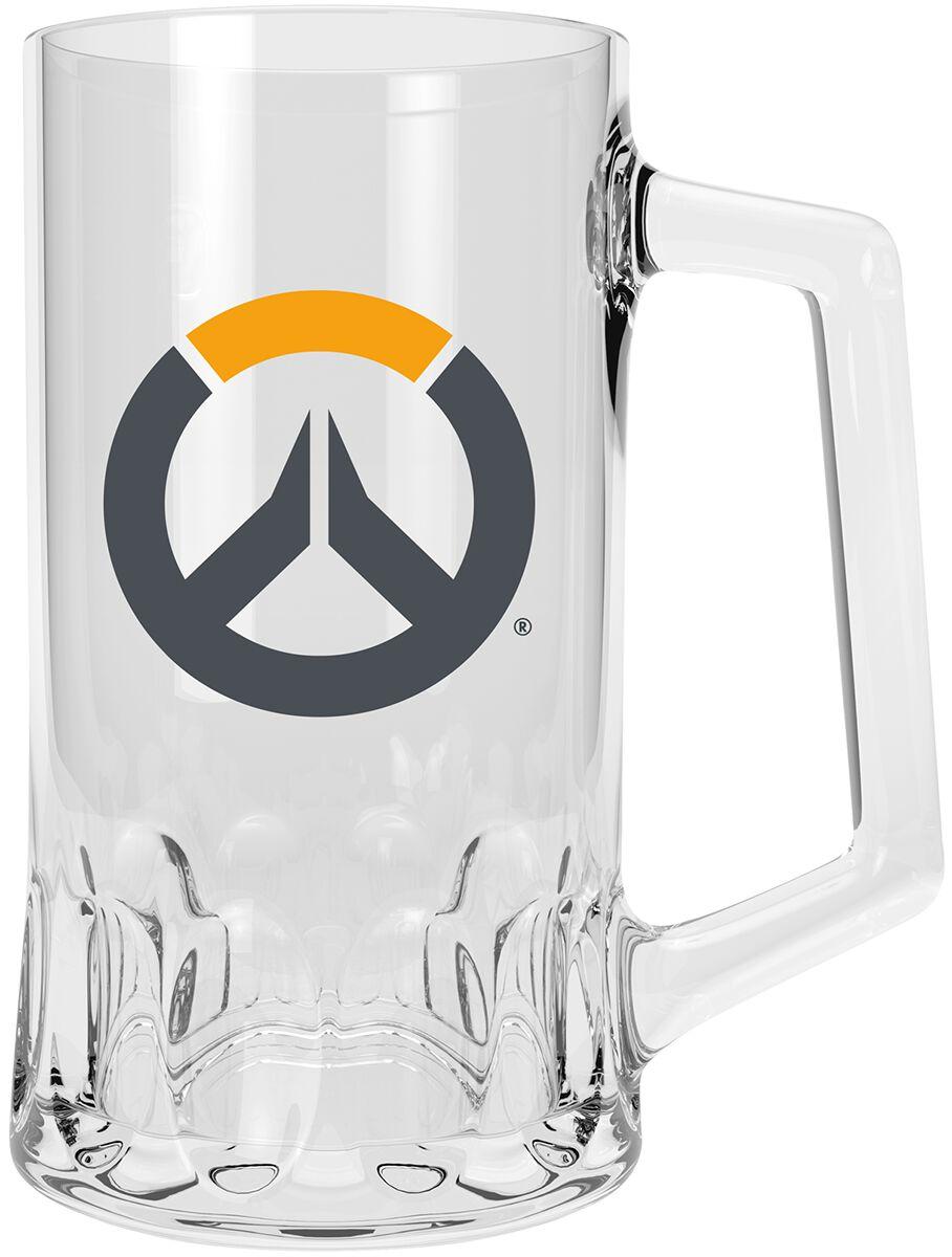 Overwatch Overwatch Logo Bierkrug klar ABYVER096