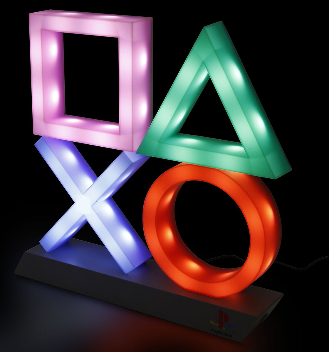 Playstation Playstation Icons Lampe Tischlampe multicolor PP5852PSV2