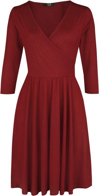 Wickelkleid RED