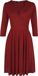 Wickelkleid RED