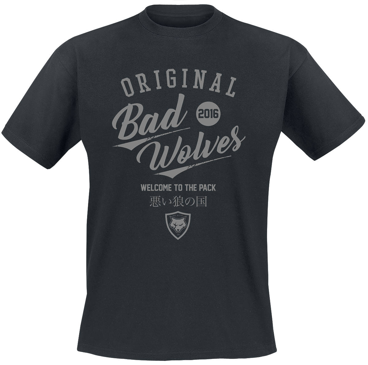 Image of Bad Wolves N.A.T.I.O.N. CD & T-Shirt Standard