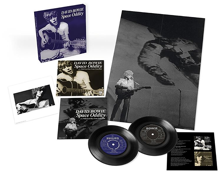 Image of David Bowie Space oddity (50th Anniversary EP) 2-7 inch Standard