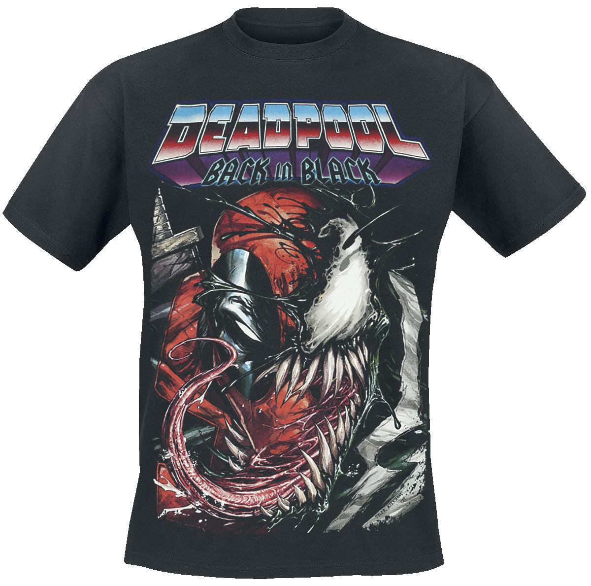 Deadpool - Back In Black - T-Shirt - black image