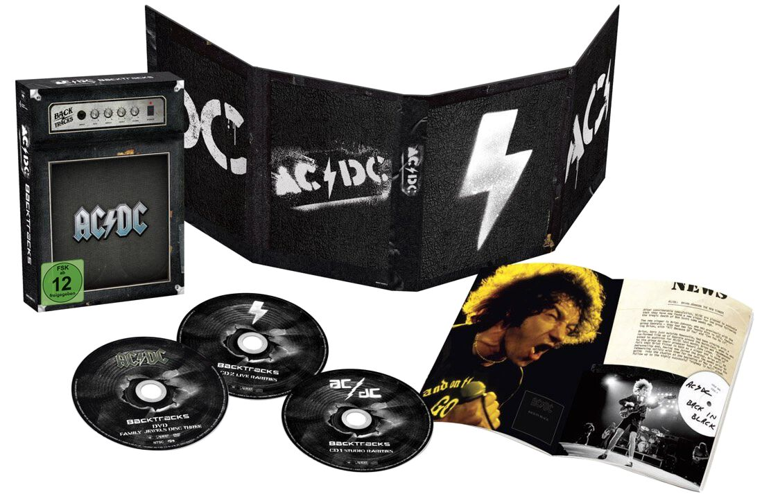 Image of AC/DC Backtracks 2-CD & DVD Standard