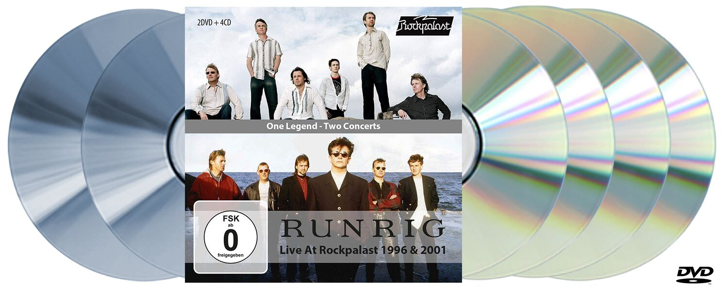 Image of Runrig One legend-Two concerts 4-CD & 2-DVD Standard