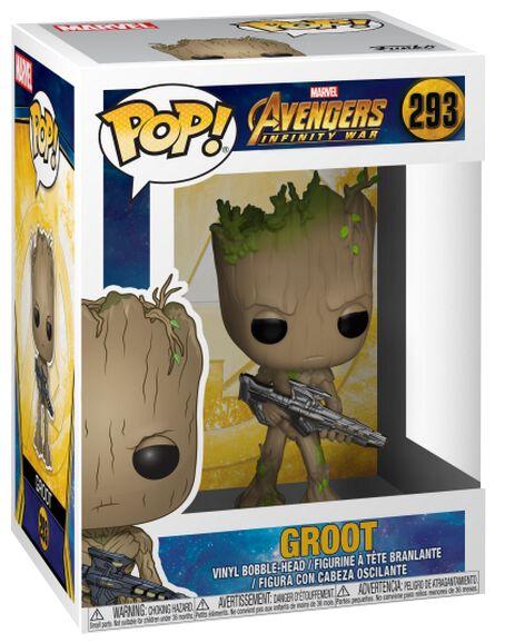 Avengers Infinity War - Groot Vinyl Figure 293 Funko Pop! multicolor 26904