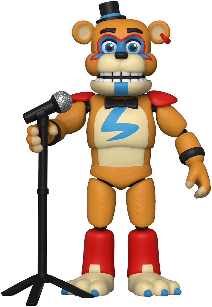 Image of Five Nights At Freddy's Pizza Plex - Glamrock Freddy Actionfigur Standard