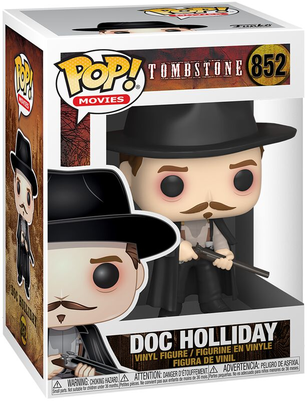 Tombstone Doc Holliday Vinyl Figur 852