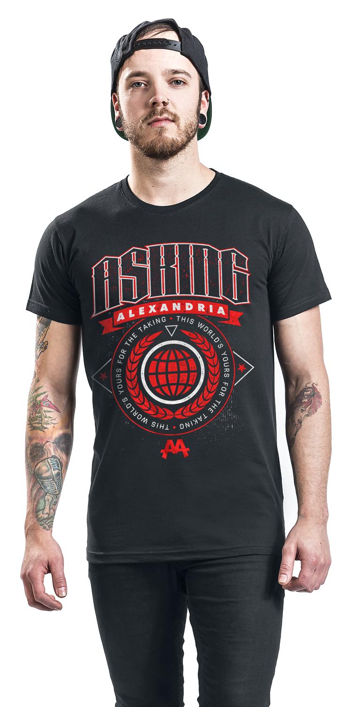 Image of Asking Alexandria This World T-Shirt schwarz