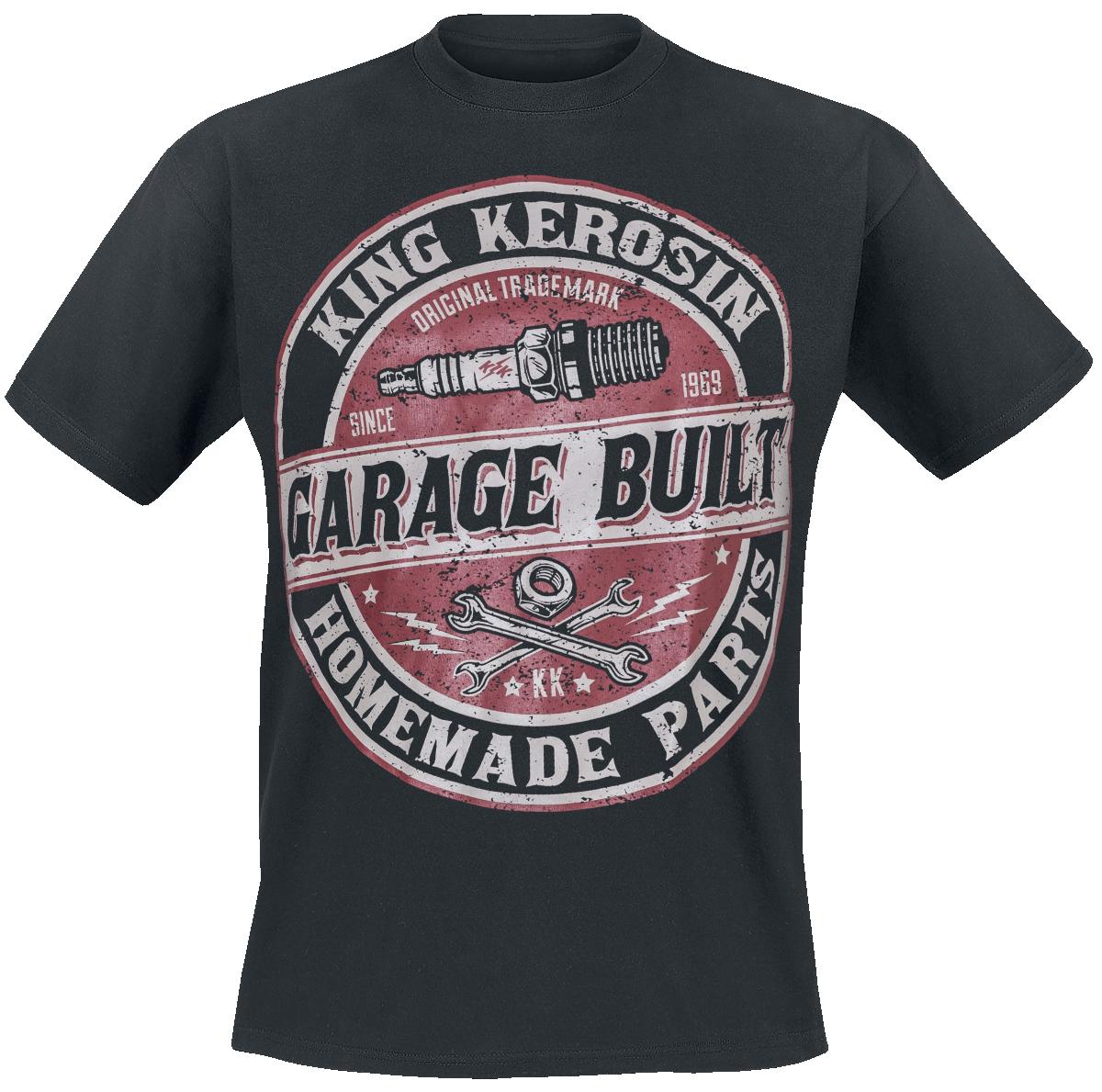 King Kerosin - Garage Built - T-Shirt - black image