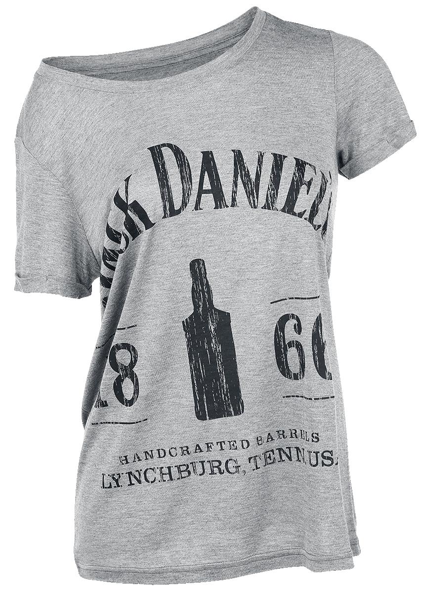 Jack Daniel's - 1866 - Girls shirt - mottled grey image