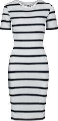 Ladies Stretch Stripe Dress