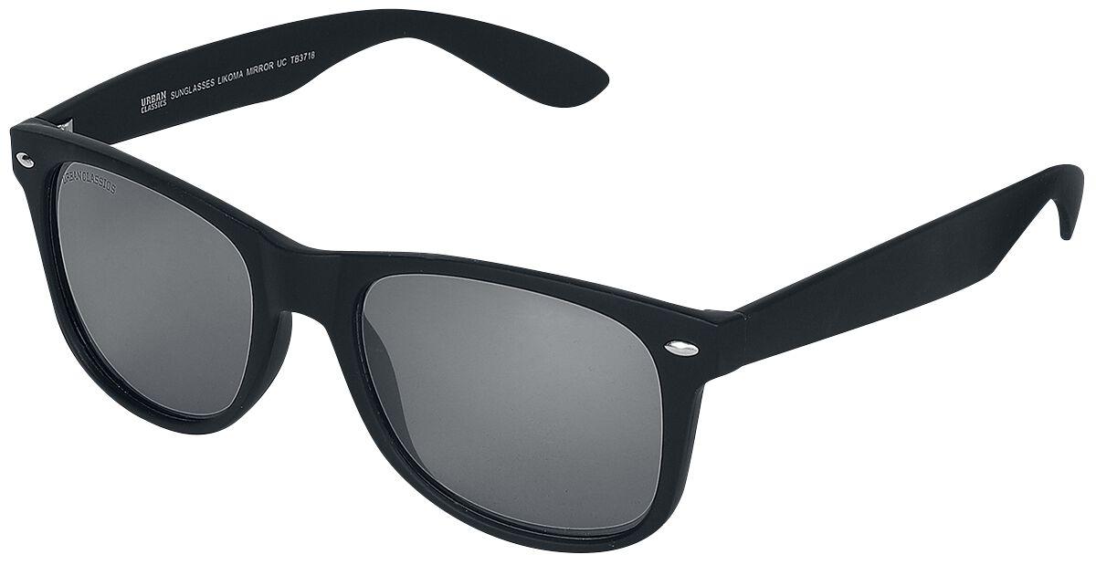 Sonnenbrillen - Urban Classics Likoma Mirror Sonnenbrille schwarz silberfarben  - Onlineshop EMP