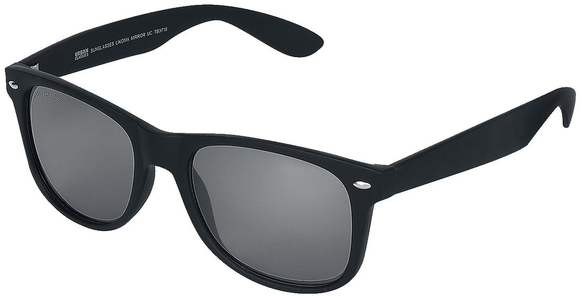 Urban Classics - Likoma Mirror - Sonnenbrille - schwarz| silberfarben