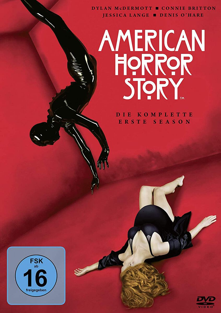 Image of American Horror Story Staffel 1 4-DVD Standard