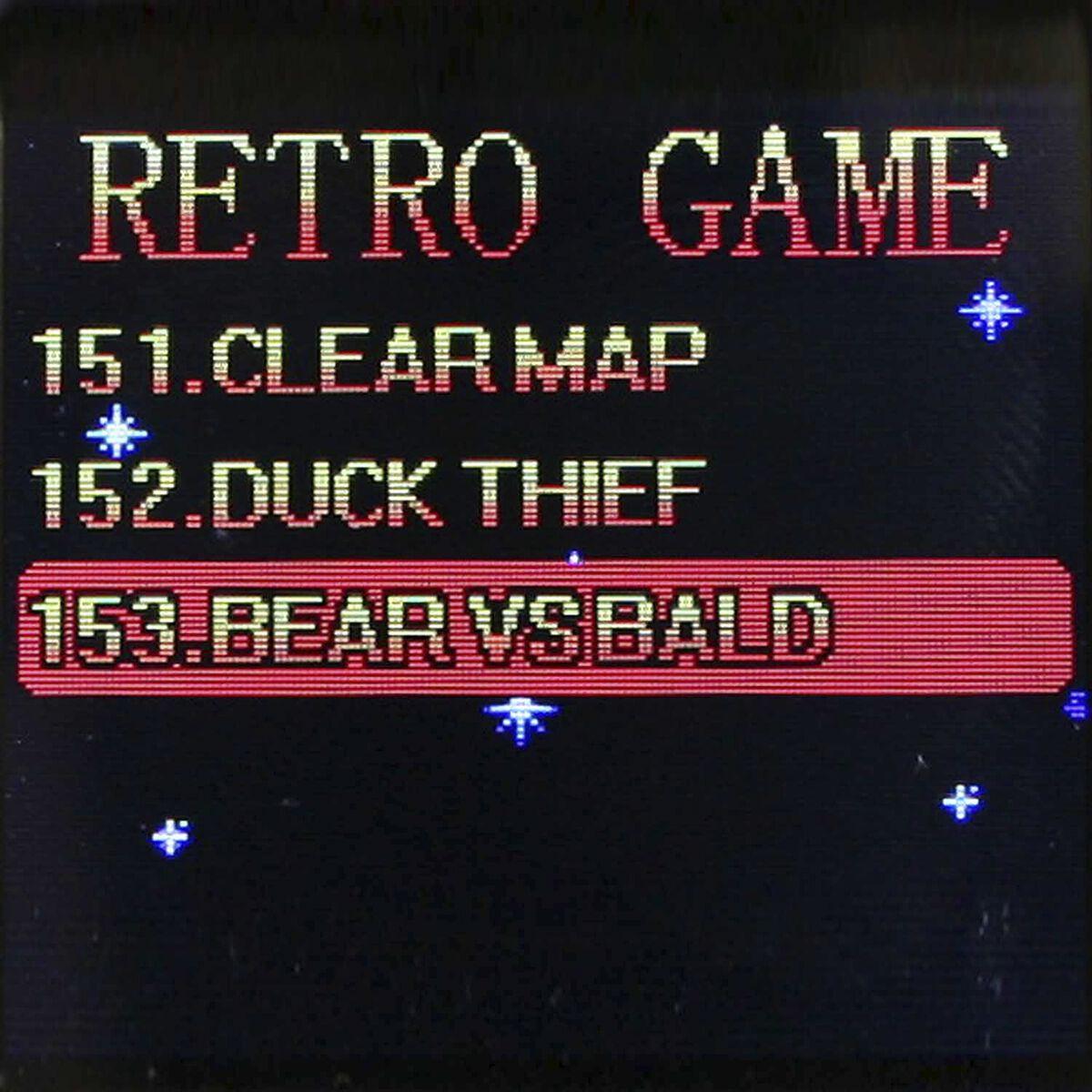 Arcade Games - Spielekonsole inkl. 153x 8-Bit Spielen | Retro Arcade ...