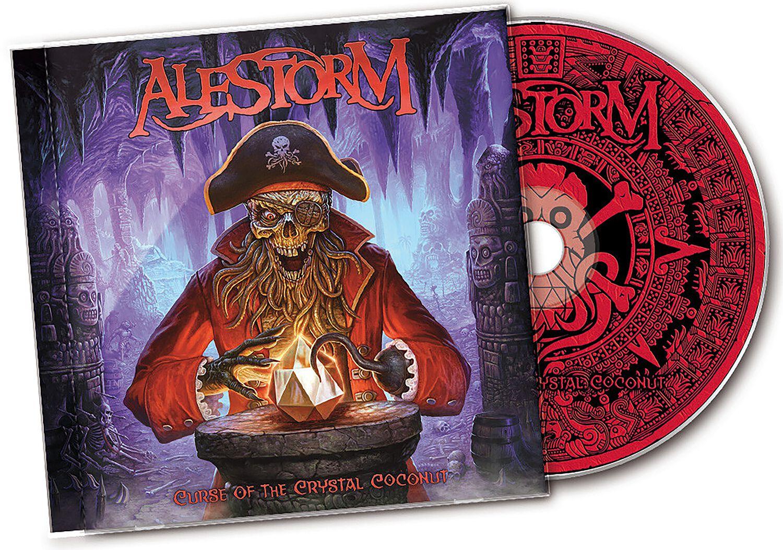 Image of Alestorm Curse of the crystal coconut CD Standard