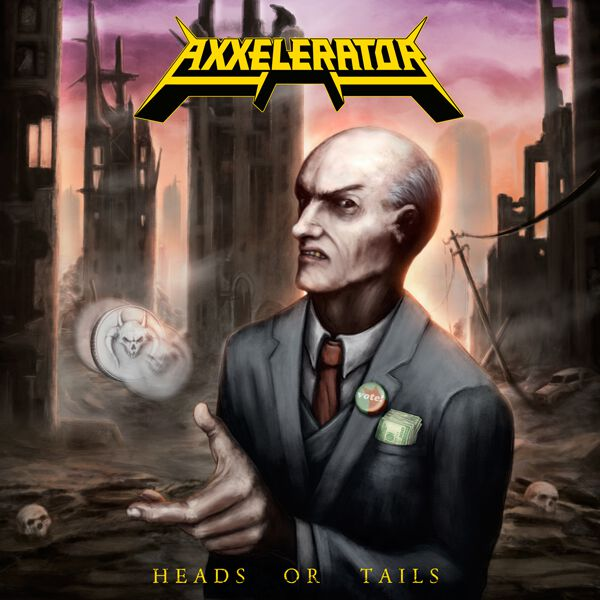 Image of Axxelerator Head or tails CD Standard
