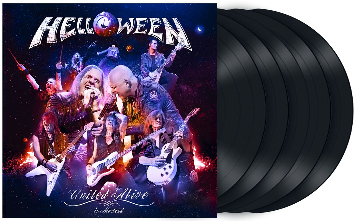 Image of Helloween United alive in Madrid 5-LP Standard