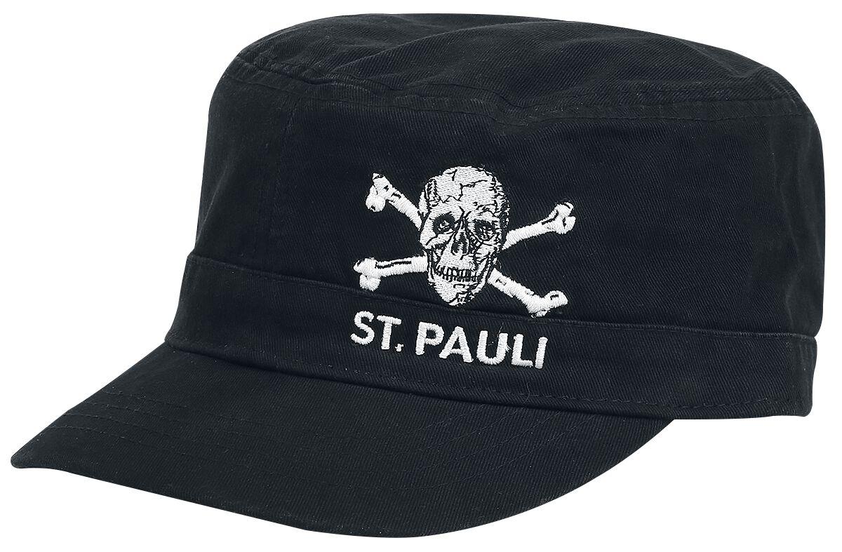 Image of FC St. Pauli Army Totenkopf Army-Cap schwarz