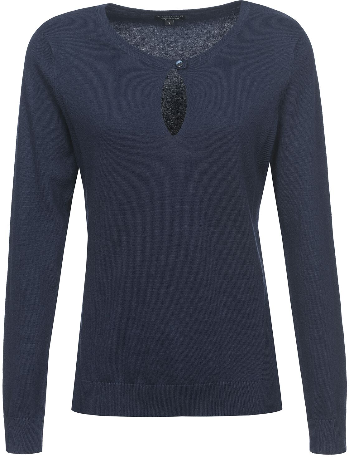 Image of Vive Maria 50ies Look Pullover Pullover donna blu navy