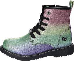 Rainbow Glitter Boots