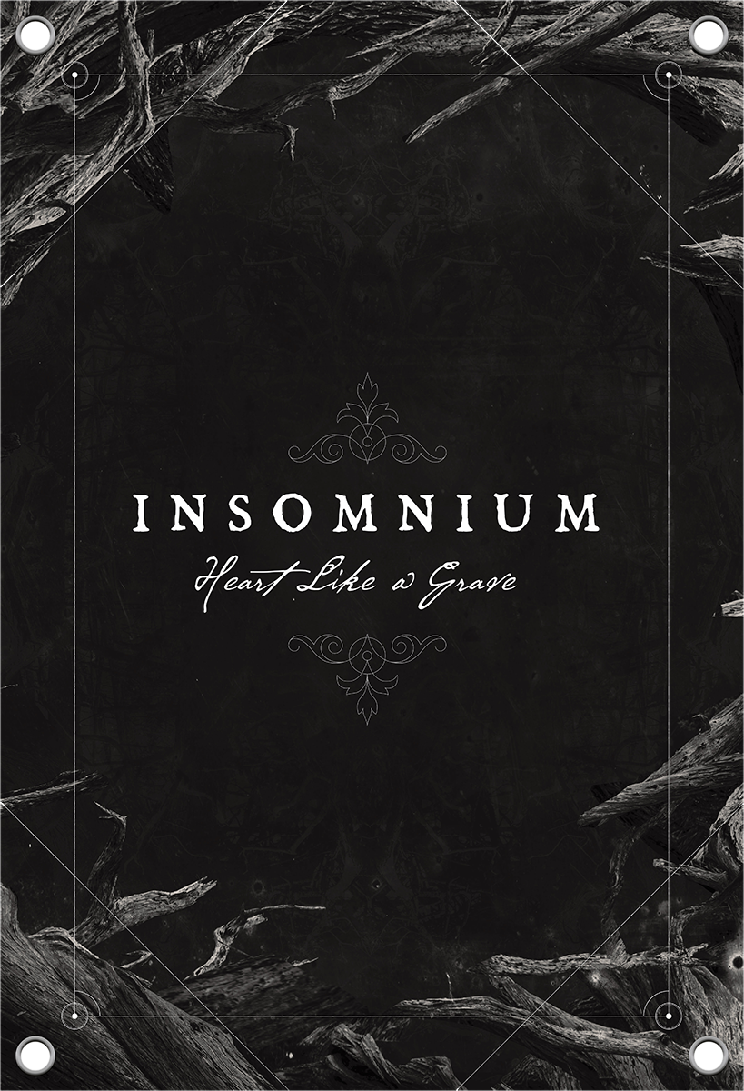 Image of Insomnium Heart like a grave CD & Flagge Standard