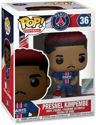 Football Paris Saint-Germain - Presnel Kimpembe Vinyl Figur 36