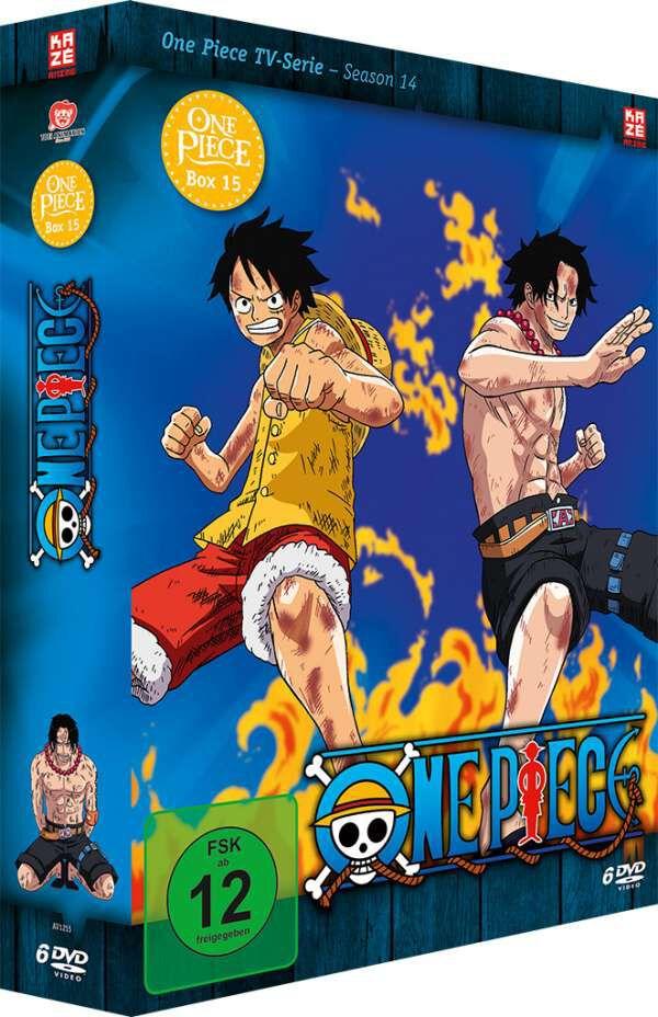 Image of One Piece Die TV-Serie - Box 15 6-DVD Standard