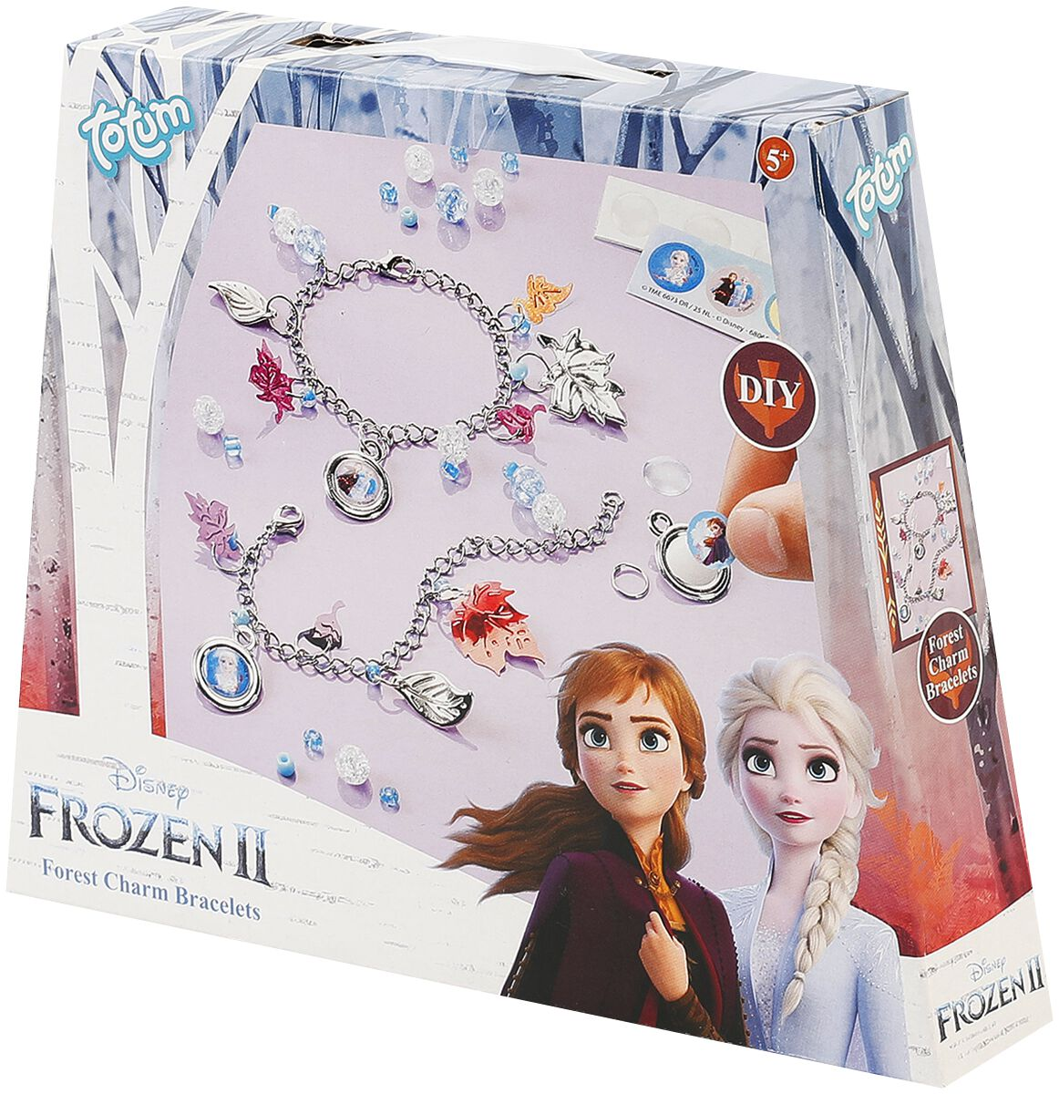 Image of Die Eiskönigin 2 - Bettel-Armbänder Set Armband-Set silberfarben