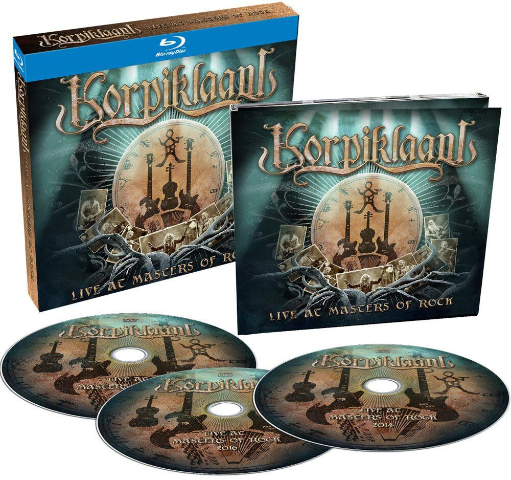 Image of Korpiklaani Live at Masters Of Rock Blu-ray & 2-CD Standard