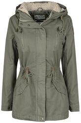 Girl Cotton Winter Coat