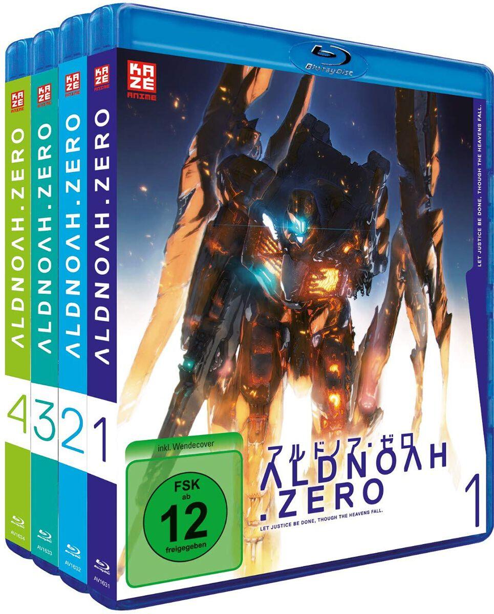 Image of Aldnoah.Zero Staffel 1 - Gesamtausgabe 4-Blu-ray Standard