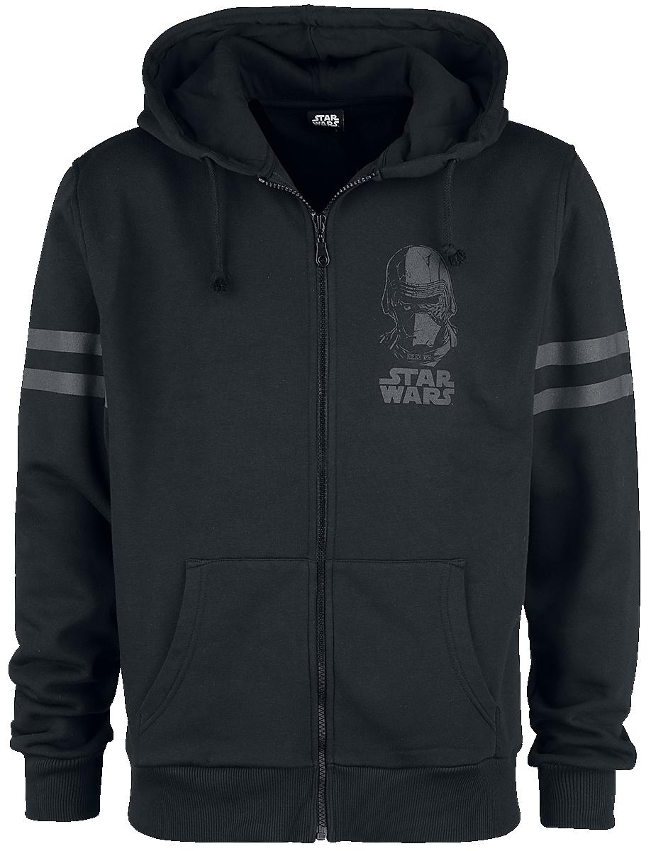 Star Wars - The Power Of The Dark Side - Kapuzenjacke - schwarz - EMP Exklusiv!
