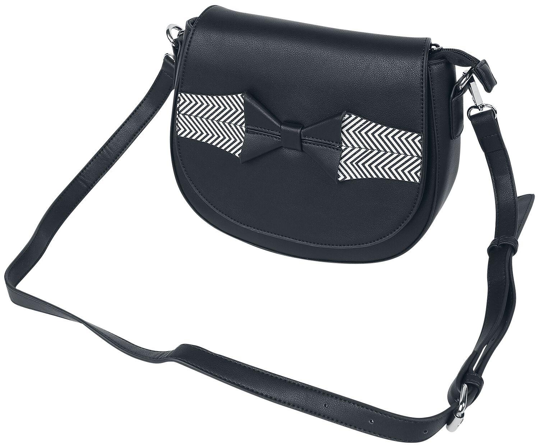 Handtaschen - Banned Retro Touch Of Grace Handtasche schwarz  - Onlineshop EMP