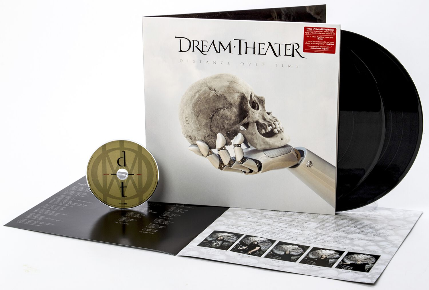 Image of Dream Theater Distance Over Time 2-LP & CD Standard