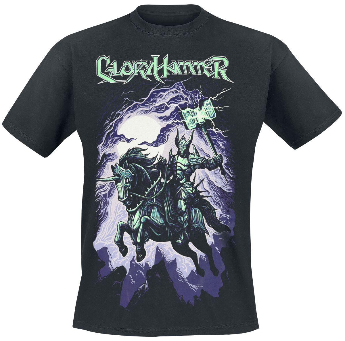 Gloryhammer Chaos Wizard T-Shirt schwarz 711142