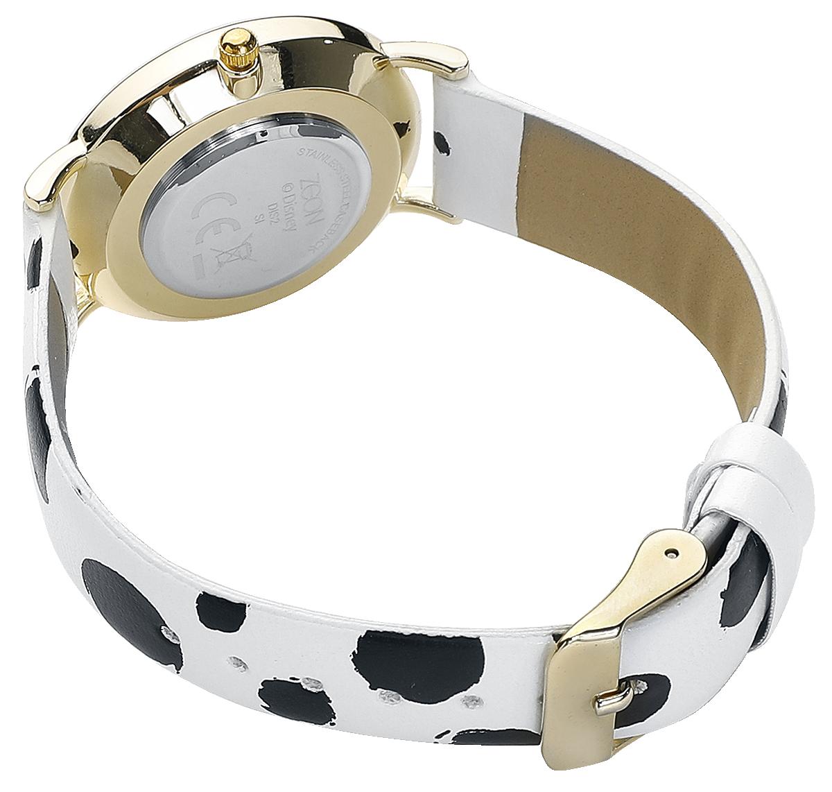 Image of 101 Dalmatiner 101 Dalmatiner Armbanduhr schwarz/weiß