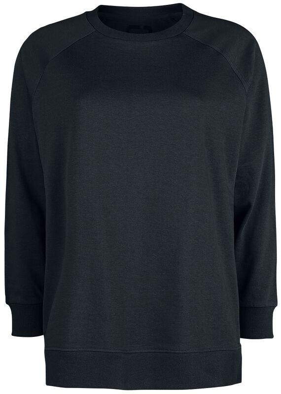 Schwarzes lässiges Sweatshirt mit Reißverschlüssen