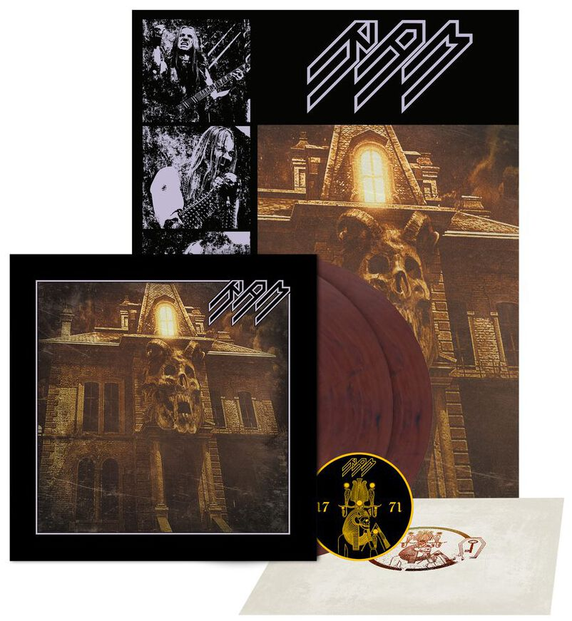 Image of Ram The throne within 2-LP & Patch Standard