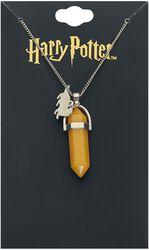 Hufflepuff Yellow Stone Necklace