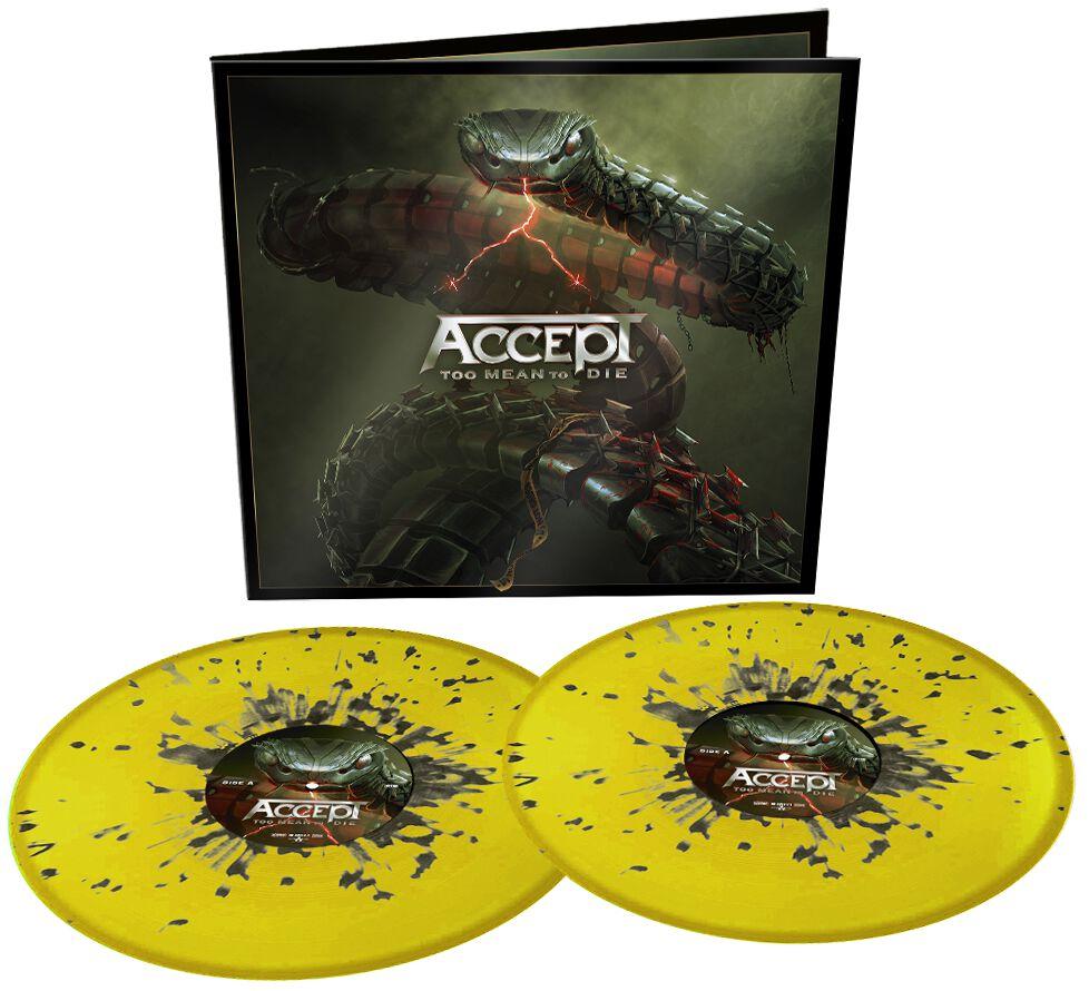 Image of Accept Too mean to die 2-LP splattered