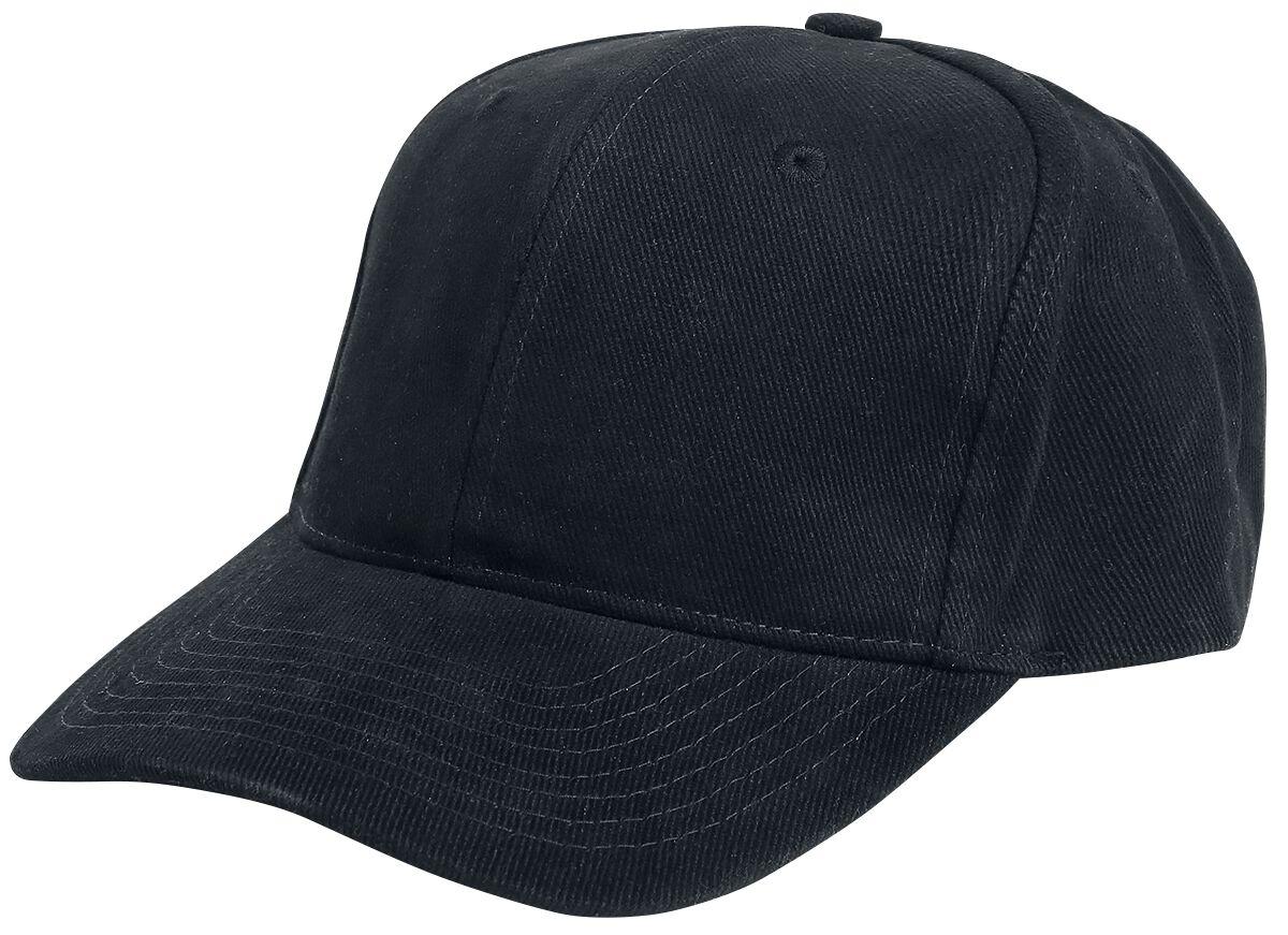 Image of Beechfield Pro Style Heavy Brushed Cotton Cap Baseball-Cap schwarz
