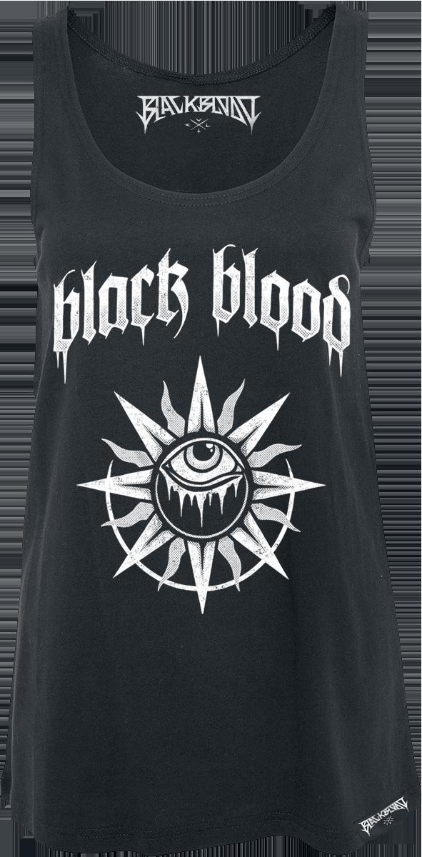 Black Blood - Occult Sun - Girls Top - black image