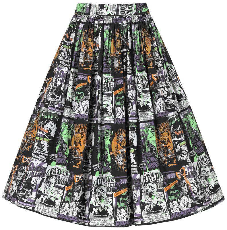 Be Afraid 50's Skirt