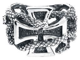 Eiserne Kreuz mit Schlangen