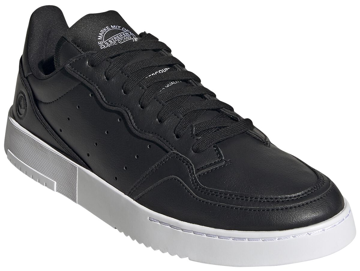 Image of Adidas - Supercourt Vegan - Sneaker - Unisex - nero