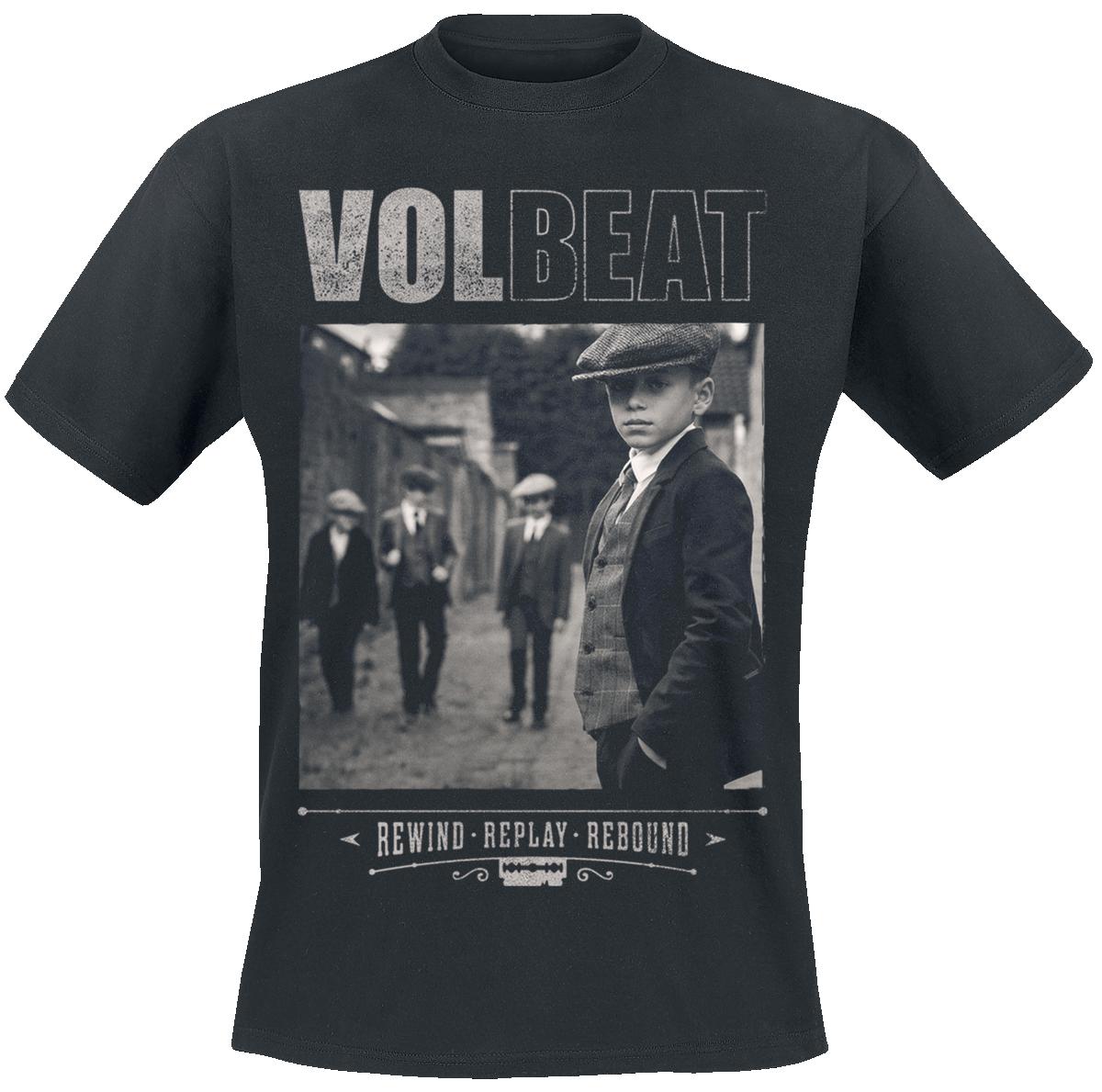 Volbeat - Cover - Rewind, Replay, Rebound - T-Shirt - black image