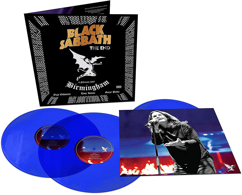 Image of Black Sabbath The end (Live in Birmingham) 3-LP blau